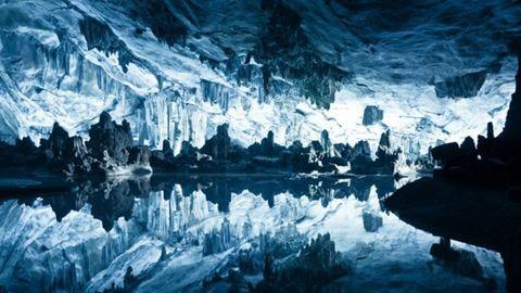 Csodálatos barlangi tavat találtak az Antarktisz jege alatt