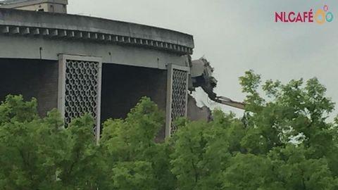 Így bontják a Puskás Ferenc Stadiont – képek