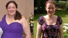 10 hónap alatt 70 kilót fogyott egy nő