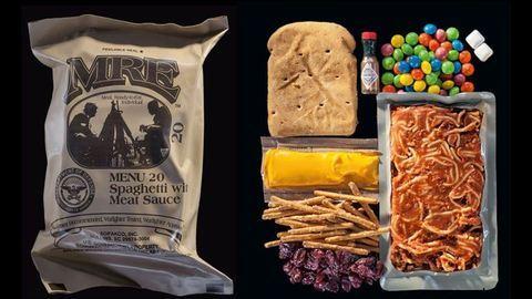 Ezt eszik a katonák a különböző hadseregekben