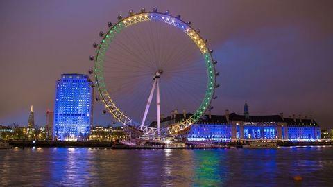 Brazil színekbe öltözött a Lánchíd és a London Eye is – 100 nap van a riói olimpiáig