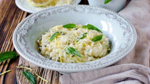 Gyors vacsora: fehérboros-mascarponés rizottó