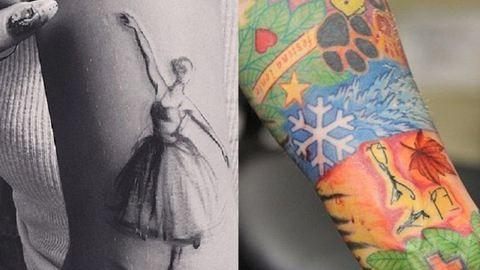 Felismered a sztárokat a tetoválásaik alapján?