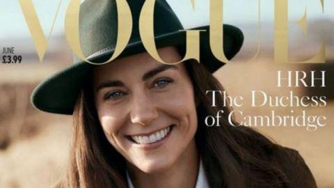 Katalin hercegnő a Vogue címlapján pózol