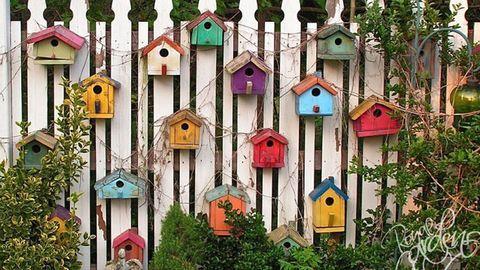 Még a kerítéseket is feldobhatod néhány kreatív ötlettel!