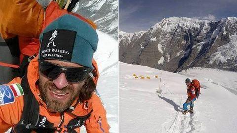 Klein Dávid megmászta az Annapurnát – fotók
