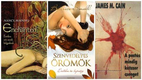 10 erotikus könyv nőknek – ezeket érdemes elolvasni