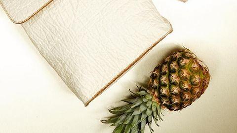 A jövő anyaga: az ananászbőr