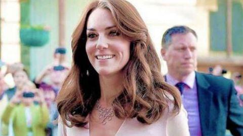 Katalin hercegnő mély dekoltázzsal mutatkozott