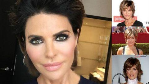 Azta! 20 év után új frizurája van Lisa Rinnának