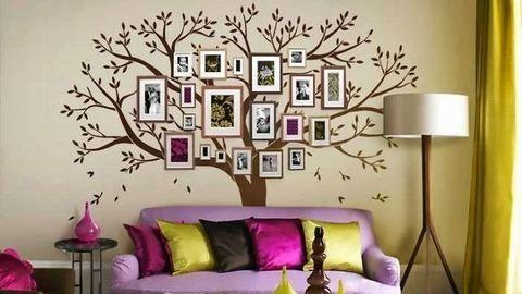 Dobd fel a lakást a családtagok fényképeivel!