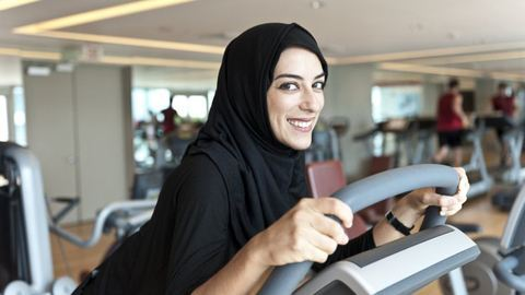 Muszlim nőknek nyílik edzőterem Walesben