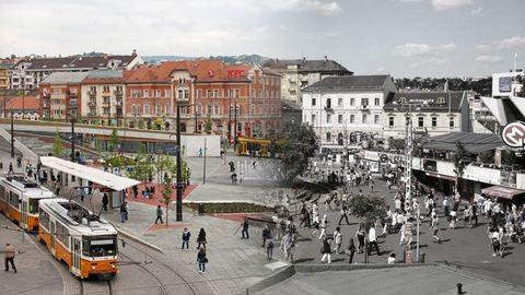 Széll Kálmán tér akkor és most
