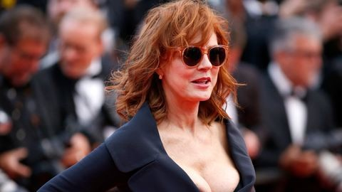 Susan Sarandon keble nagyon kikívánkozott Cannes-ban