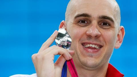 Cseh László ezüstérmes lett 50 pillangón, Balogh ötödik 100 háton
