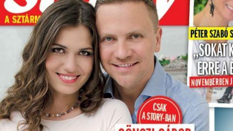 Gönczi Gábor apa lesz, babát várnak párjával