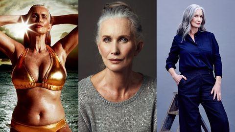 Nicola Griffin 50 évesen lett modell, és nem szégyelli a striáit – interjú