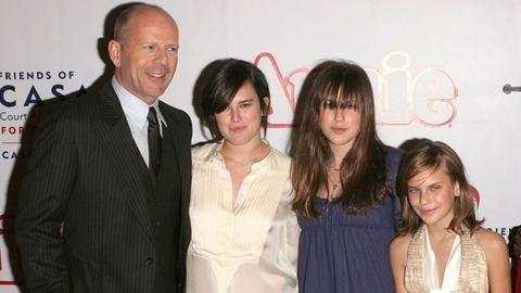 Mellet villantott Bruce Willis lánya