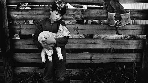 Élet a farmon: gyermekei mindennapjait fotózza az édesanya