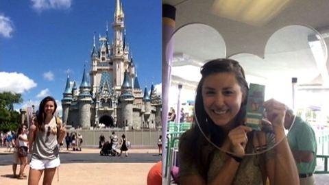 1994-es jeggyel látogatott Disney Worldbe