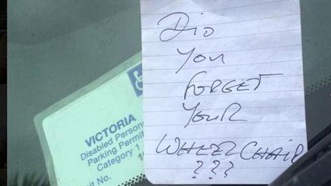 Beszóltak a parkolóban a beteg nőnek – zseniálisan vágott vissza
