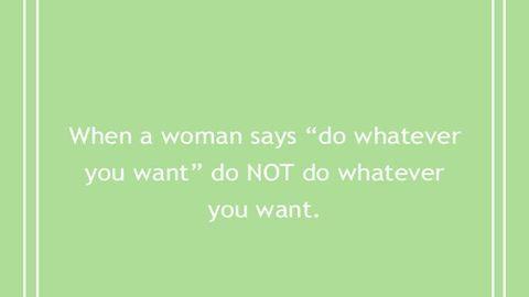 10 mondat, amit minden nő át tud érezni