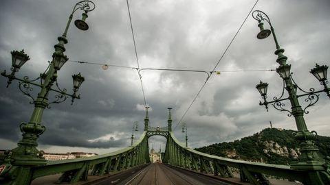 Durván elkapta a vihar Budapestet – fotók