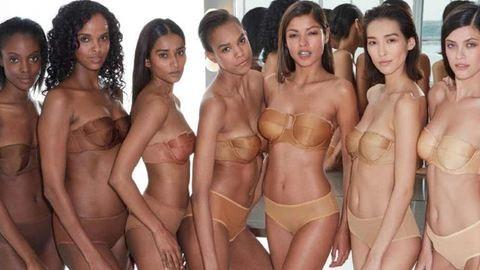 Már minden bőrszínhez létezik nude fehérnemű
