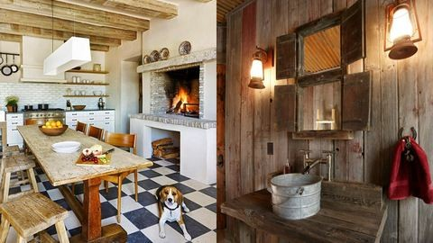 Hódít a country stílus: gyönyörű vidéki otthonok – fotók