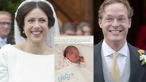Újabb magyar hercegnő született: Glória Irén nevet kapta