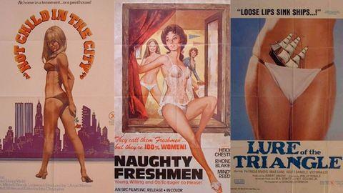 Vicces erotikus filmplakátok a 60-as évekből
