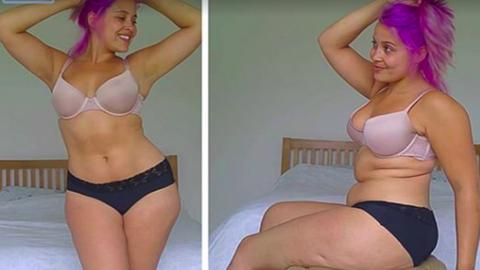 """""""Fogalmunk sincs, hogy néz ki az egészséges női test"""" – ez a blogger megmutatja"""