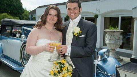 Egy kiselefánt súlyát dobta le az esküvője napjára a jegyespár – fotók