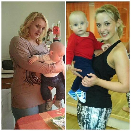 97 kiló volt szülés után, 9 hónap alatt 32 kilót dobott le a magyar anyuka