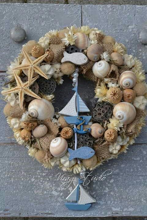 Tengeri csillagok, kishajók és néhány kagyló: kész is az igazi nyári ajtókopogtató!