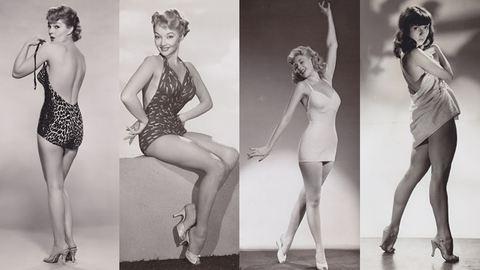 Nézd meg az 50-es évek legvadítóbb színésznőit pin-up pózban!