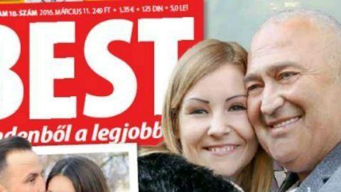 Szakított Gesztesi és 29 éves párja