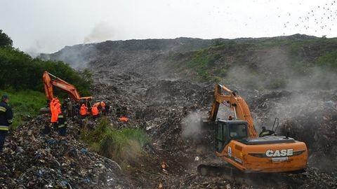 A csernobilihoz mérhető katasztrófát okozhat a lángoló ukrán hulladéklerakó