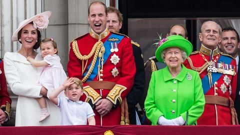 50 látványos fotó II. Erzsébet királynő 90. születésnapjáról