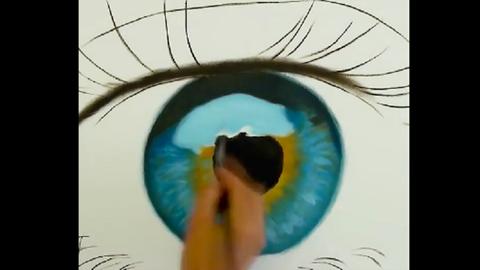 Hogyan rajzolj ilyen elképesztően élethű szemet? Megmutatjuk! – videó