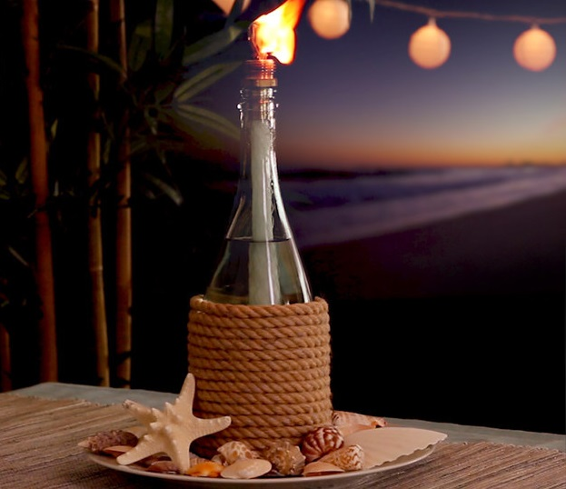Teremts romantikus hangulatot az erkélyedre ezzel a gyertyával! - videó