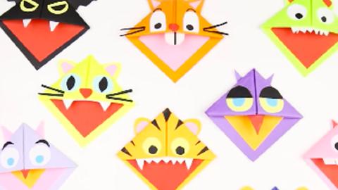 Mókás saját könyvjelzők, hogy szívesen olvasson a gyerkőc – videó
