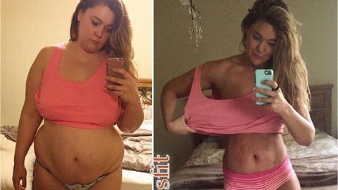 Mínusz 60 kiló: Így változik 1 év alatt a test