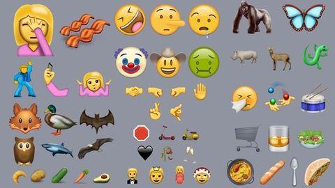 Terhes nő, szelfiző kar és krumpli – ilyenek lesznek az új emojik