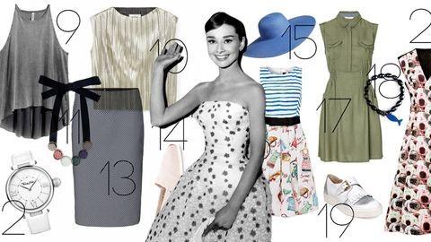 Így öltözködne Audrey Hepburn 2016-ban