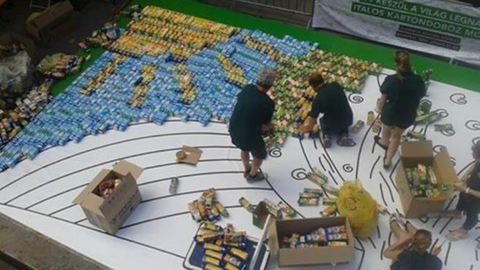 Szemétből Guinness-rekordkísérlet csütörtökön Budapesten