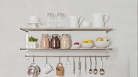 Fantasztikus ötletek, amivel a kicsi konyhád is tágasabbnak tűnik majd – videó