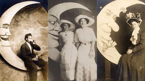 100 évvel ezelőtt ilyen képek voltak a családi albumban