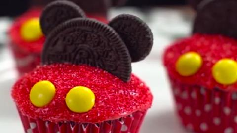 Imádni fogják a gyerekek ezt a Miki egeres muffint! – videó