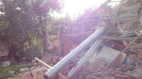 Felrobbant egy ház Polgáron